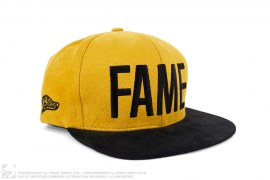 Fame Suede Snapback by Hall of Fame
