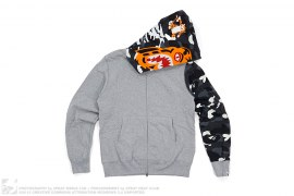 City Camo Sleeve Tiger Hoodie by A Bathing Ape