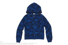Fire Camo Full Zip Hoodie by A Bathing Ape
