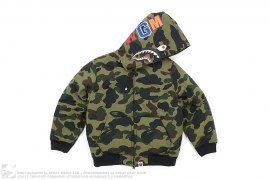 1st Camo Puffer Down Shark Jacket by A Bathing Ape