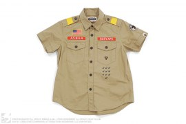 Boy Scout Button-Up Shirt by A Bathing Ape