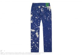 mens jeans Sterling Ruby Bleached Skinny Jeans by Raf Simons