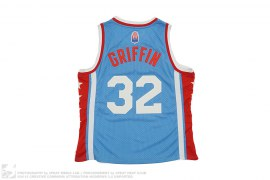 mens jersey Los Angeles Stars 32 Griffin Basketball Jersey by Adidas