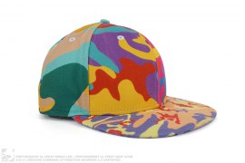 Abstract Camo Fitted Hat by New Era x Andy Warhol