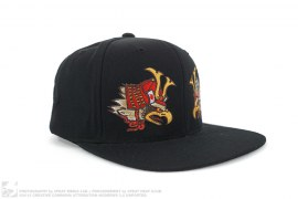 mens hat Death Before Dishonor Snapback Hat by Undefeated x A Bathing Ape