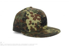 mens hat Fletcher Camo Fitted Hat by Undefeated