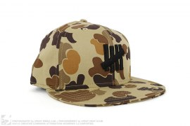 mens hat Desert Camo Fitted Hat by Undefeated