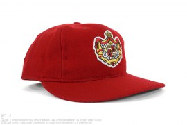 Spain Crest Logo Wool Fitted Hat by Ebbets Field