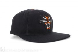 Black Cat Wool Fitted Hat by Ebbets Field x Maiden Noir