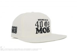 Bitches Be Like Snapback Hat by 40oz NY x Married To The Mob