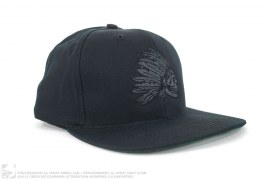 Skull Chief Snapback Hat by Faded Royalty