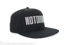 Notorious Snapback Hat by SSUR