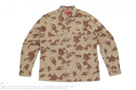 mens button-up Desert Camo Button-Up Shirt by Supreme