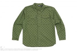 mens button-up Plus Pattern Button-Up Shirt by Undefeated