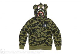 Ultimate 1st Camo Be@rbrick Shark by A Bathing Ape x Medicom