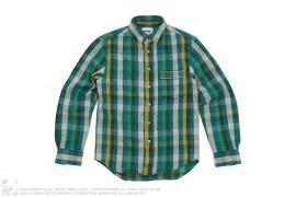 mens button-up Chomper Pocket Button-Up Shirt by OriginalFake