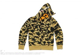 Milo Kitty Split Face 1st Camo Full Zip Hoodie by A Bathing Ape