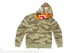 Tiger Camo Tiger Hoodie by A Bathing Ape