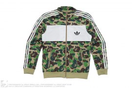mens jacket ABC Camo Firebird Track Jacket by A Bathing Ape x Adidas