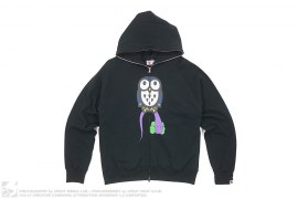 Kaws Owl Bendy Hoodie by A Bathing Ape x Kaws