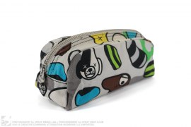 Animal Kingdom Pencil Pouch by A Bathing Ape x Kaws