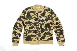 1st Camo Sweat Varsity Jacket by A Bathing Ape