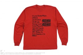 Some Ware Los Angeles Pop-up Long Sleeve Tee by Vlone