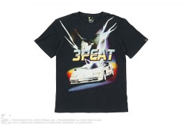 mens tee Bald Ego Tee Front Hit by 3peat