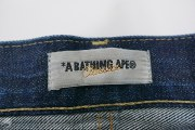Chain Stitch Bape Sta Logo Jeans, item photo #11