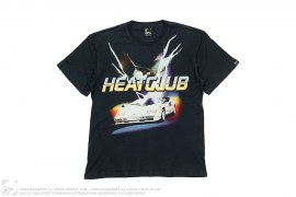 mens tee Bald Ego Tee Front Hit by 3peat x Heatclub