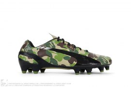 EvoSPEED ABC Camo Soccer Cleats by A Bathing Ape