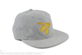 Home Cord Advantage Unstructured Strapback Cap by 3peat LA x Mitchell & Ness