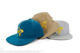 Home Cord Advantage Unstructured Strapback 3pack by 3peat LA x Mitchell & Ness