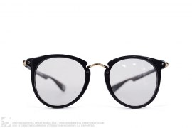 accessory Gold Apehead Accent Eye Glasses by A Bathing Ape