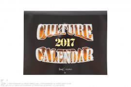 Culture Calendar 2017 by Dbruze x Menace