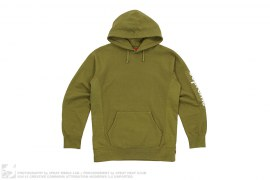 mens pullover Sleeve Patch Hooded Sweatshirt by Supreme