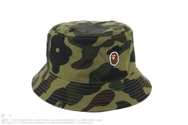 mens hat 1st Camo Small Apehead Bucket Hat by A Bathing Ape