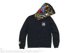 Half 1st Camo WGM Wappen Be@rbrick Shark by A Bathing Ape x Medicom