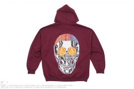 Bird Eye View Skull Pullover Hoodie by Travis Scott