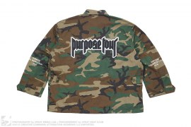 Purpose Tour Military Camo Jacket by Justin Bieber