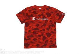 Ultimate Color Camo Logo Tee by A Bathing Ape x Champion