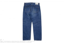 Blues Basic Washed Selvedge Denim by Wtaps