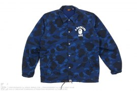 Color Camo College Logo Coach Jacket by A Bathing Ape