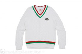 Lacoste Knit Sweater by Supreme x Lacoste
