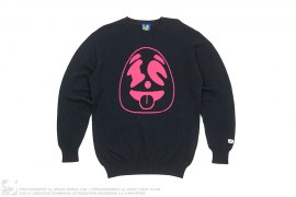 Panda Face Knit Sweater by BBC/Ice Cream