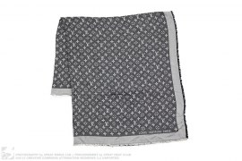 mens accessory Monogram Shawl by Louis Vuitton