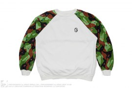 Space Camo Split Crewneck by BBC/Ice Cream