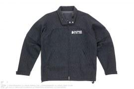 Windstopper Wool Convertible Sleeve Work Jacket by A Bathing Ape