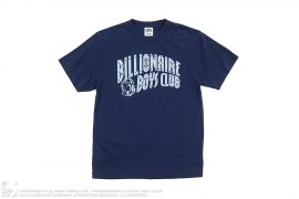 mens tee Pinstripe Full Arch Logo Tee by BBC/Ice Cream