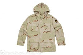 mens jacket Hooded BDU Desert Camo Jacket by Supreme